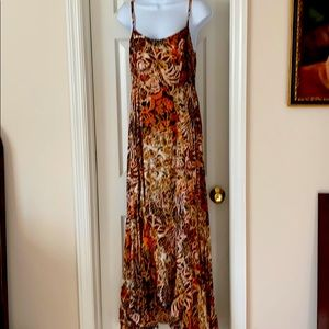 Elegant Autumn Maxi Dress